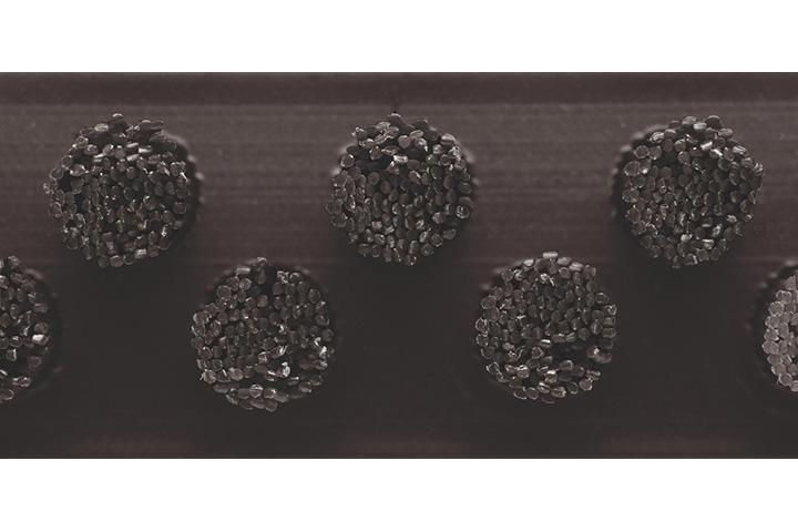Borstelmat 5007 Zwart