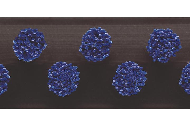 Borstelmat 5010 Blauw