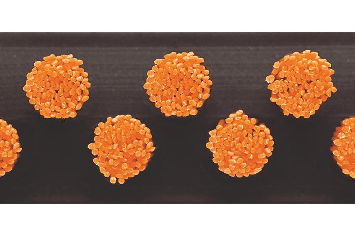 Borstelmat 5099 Oranje
