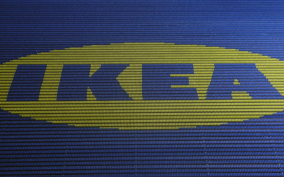 Borstelmat Met Logo Ikea