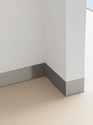 Aluminium Plint Plat Product