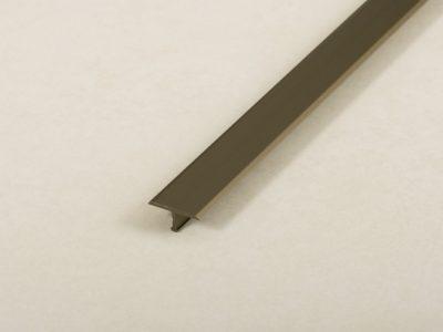 Proline Producer T Voegafdekprofiel Geanodiseerd Aluminium Mat Brons