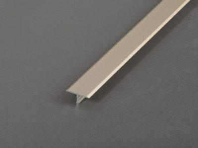 Proline Producer T Voegafdekprofiel Geanodiseerd Aluminium Mat Champagne