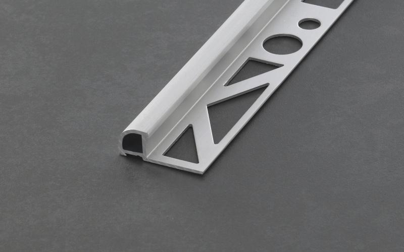 Proline Proround Aluminium Geborsteld Mat Zilverkleurig