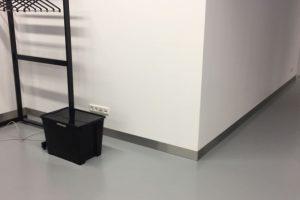 RVS Plint Installatie