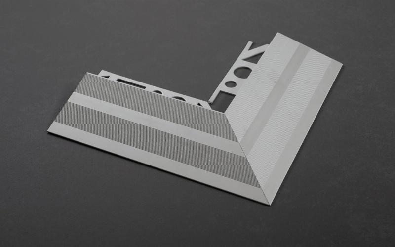 Proline Pronivo K Buitenhoekstuk Aluminium Geanodiseerd Mat