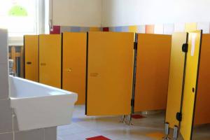 Renovatie Toilet Wandbescherming