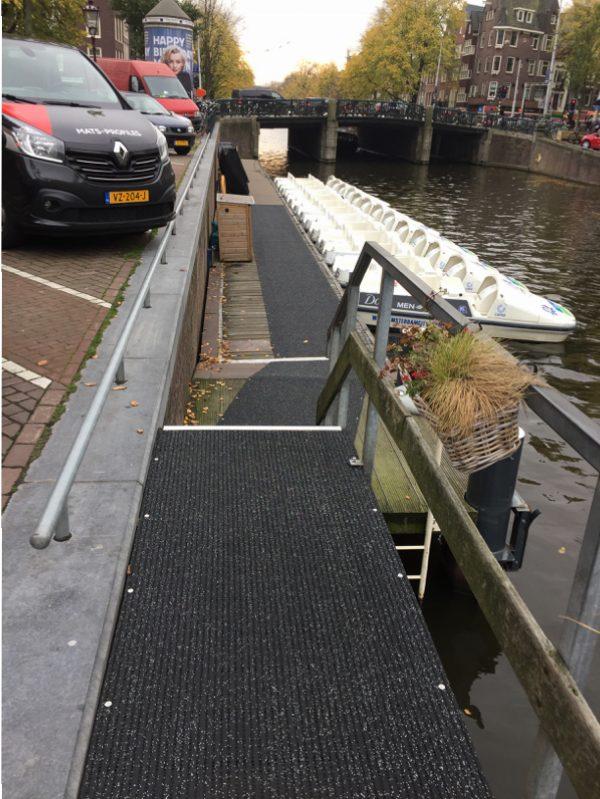 Antislip Vlonder Steiger Amsterdam