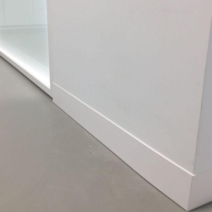 Aluminium Plint Gecoat