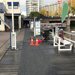 Installatie antislip