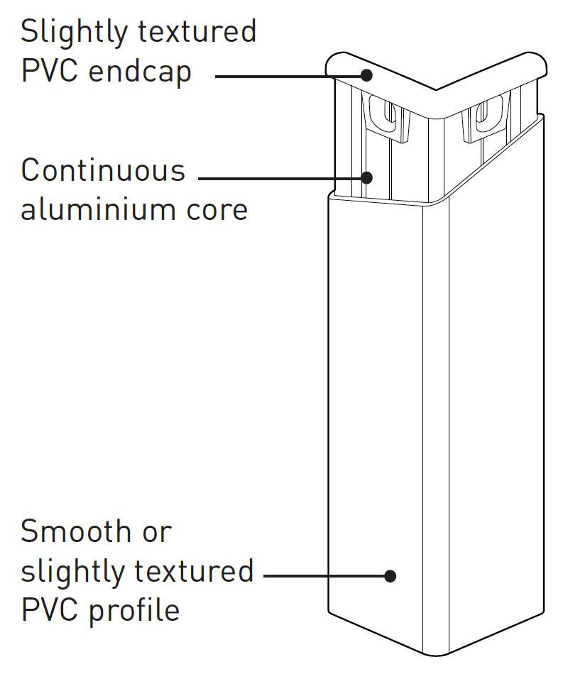 Hoekbeschermer SPM Combo Corner tekening