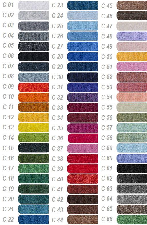Kleuren droogloop logomat