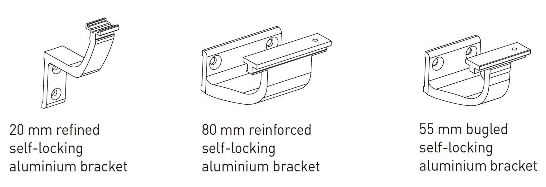 SPM Linea Touch Detail Tekening Beugels