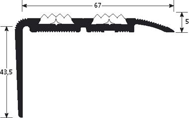Trapneus 1330 tekening