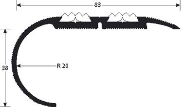 Trapneus 1340 tekening