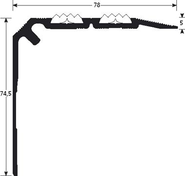 Trapneus 1350 tekening