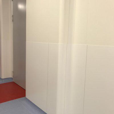 Muurbescherming Cleanroom