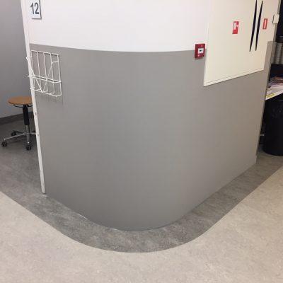 Wandbescherming Installatie Ziekenhuis