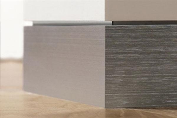 Aluminium Plint Profiel Channel