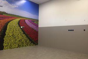 Installatie Decoprint Ziekenhuis