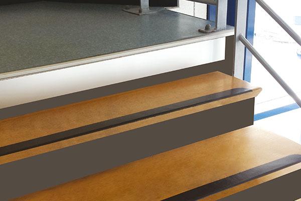 Toegankelijkheid Trappen Metalen Stootbord Voorbeeld