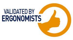 Validated by Ergonomists logo