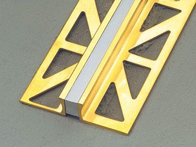 Duraflex Metal Voegprofiel Messing