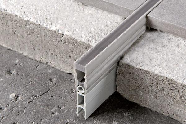 Krimpvoegprofiel PVC 600x400