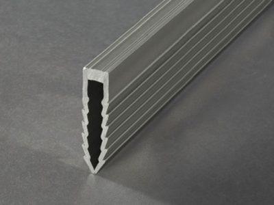 Proline Proconnex PVC Krimpvoegprofiel Donkergrijs