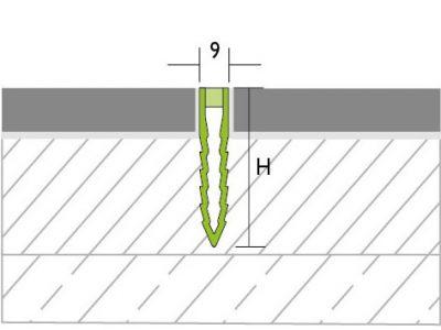 Proline Proconnex PVC Krimpvoegprofiel Tekening