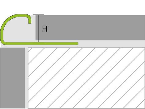 Proline Proround RVS Tekening