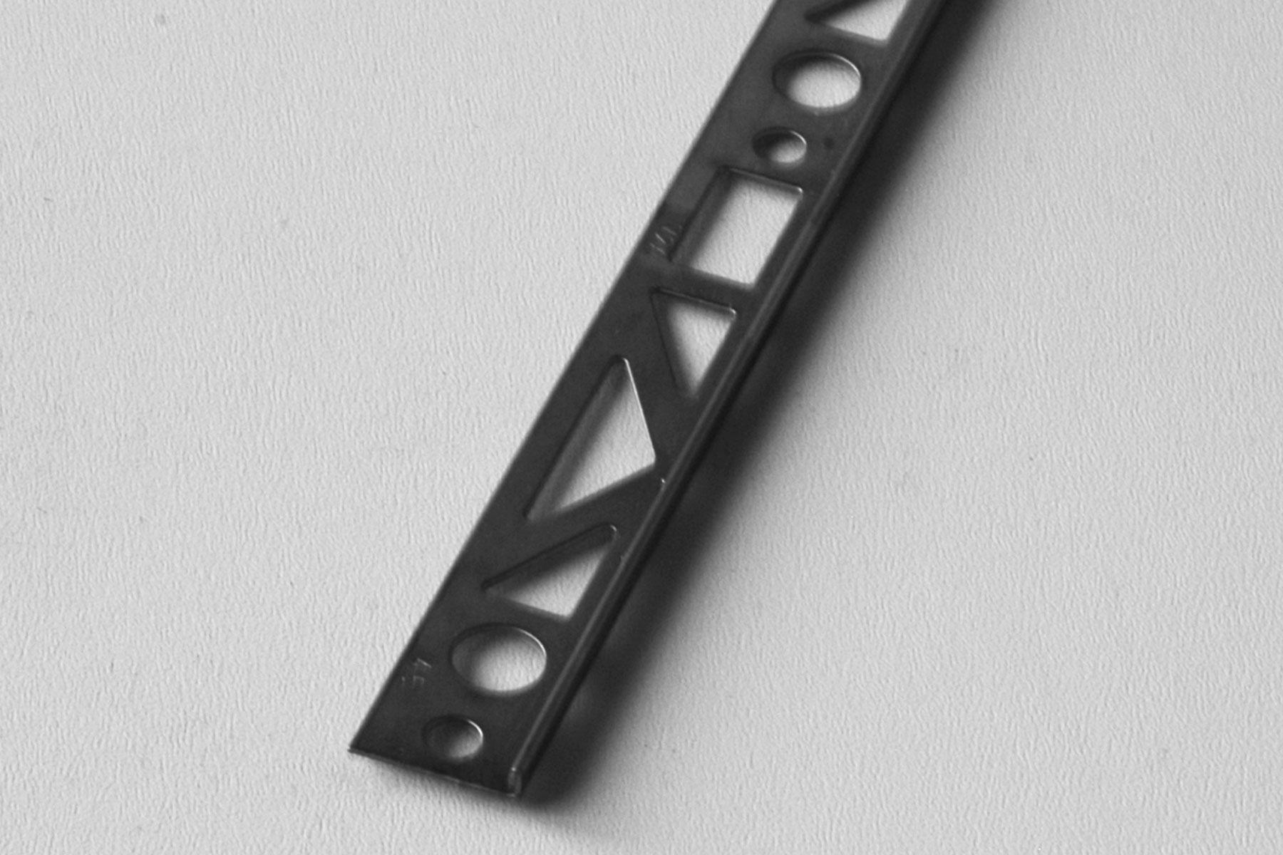 Mapro Egalisatieprofiel 4,5 mm RVS