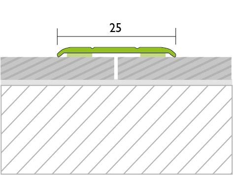 Proline Protrans Plat Alu Tekening 25 mm Zelfklevend