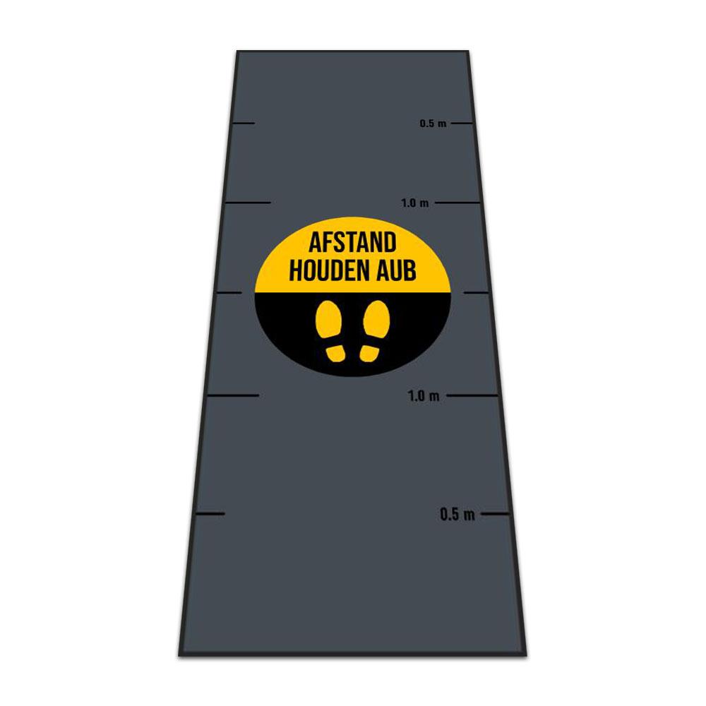 Standaard Logomat Lang Afstand Houden