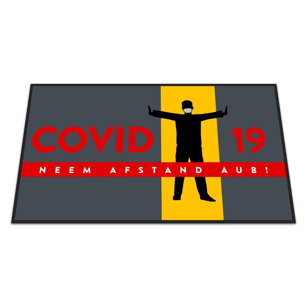 Standaard Logomat Covid-19