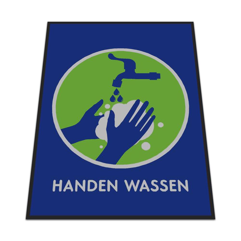 Standaard Logomat Handen Wassen