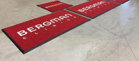 Logomatten Voor Bergman Clinics