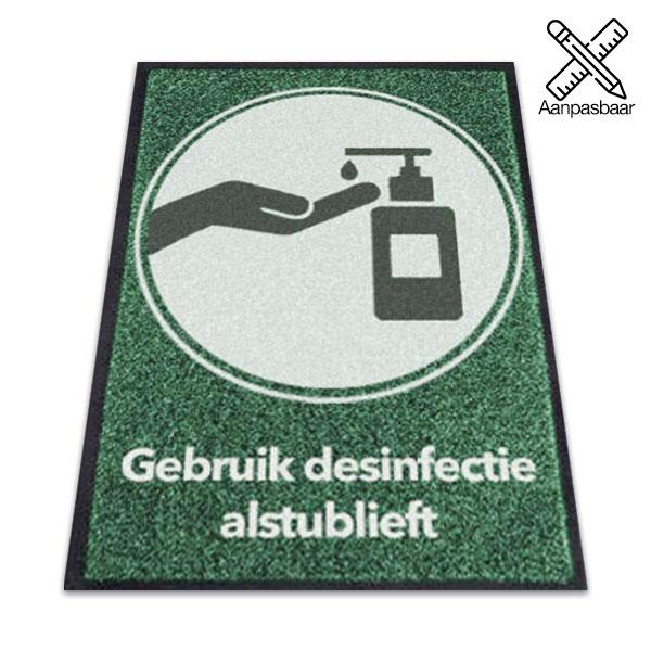 Logomat Desinfectie Alstublieft