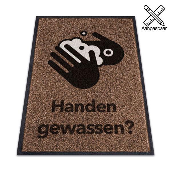 Logomat Handen Gewassen