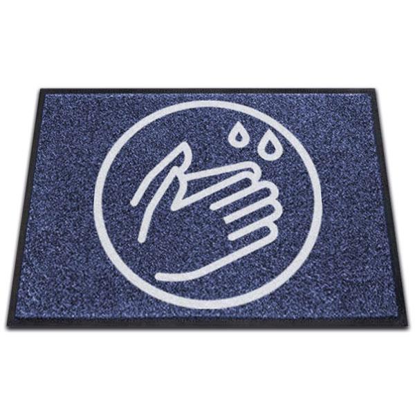 Logomat Handen Wassen Liggend