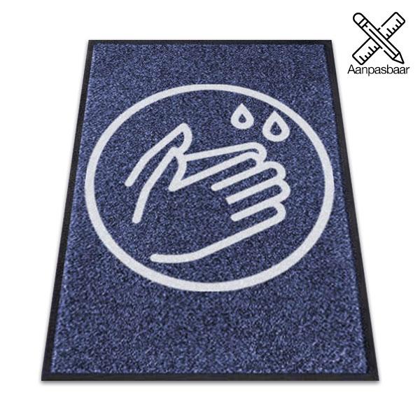 Logomat Handen Wassen Zonder Tekst