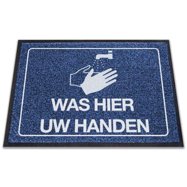 Logomat Was Hier Uw Handen