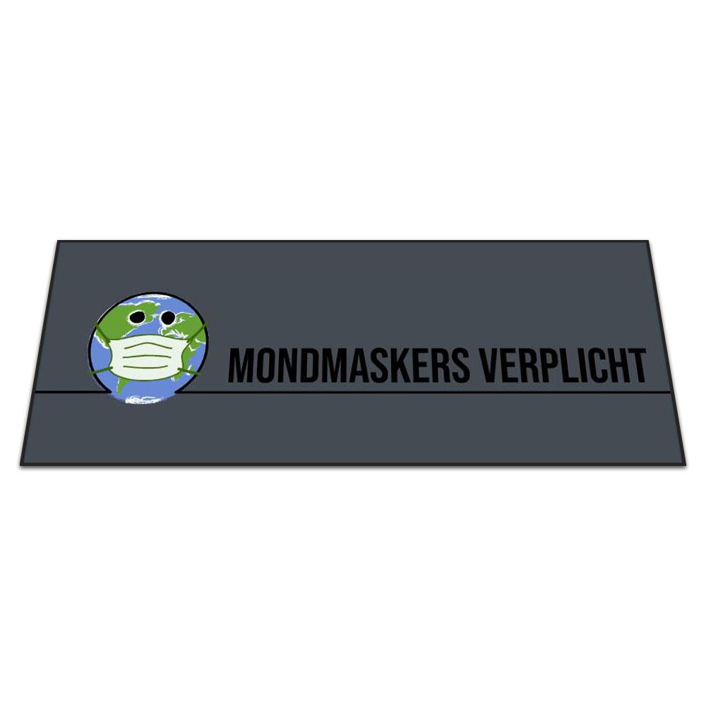 Standaard Logomat Mondmaskers Verplicht