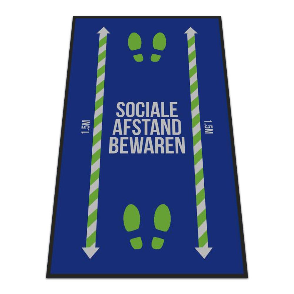Standaard Logomat Sociale Afstand Bewaren