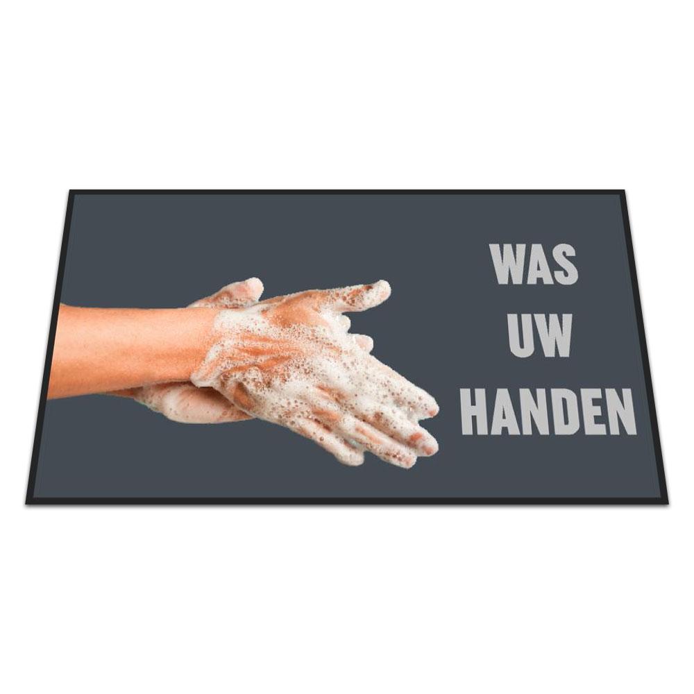 Standaard Logomat Was Uw Handen