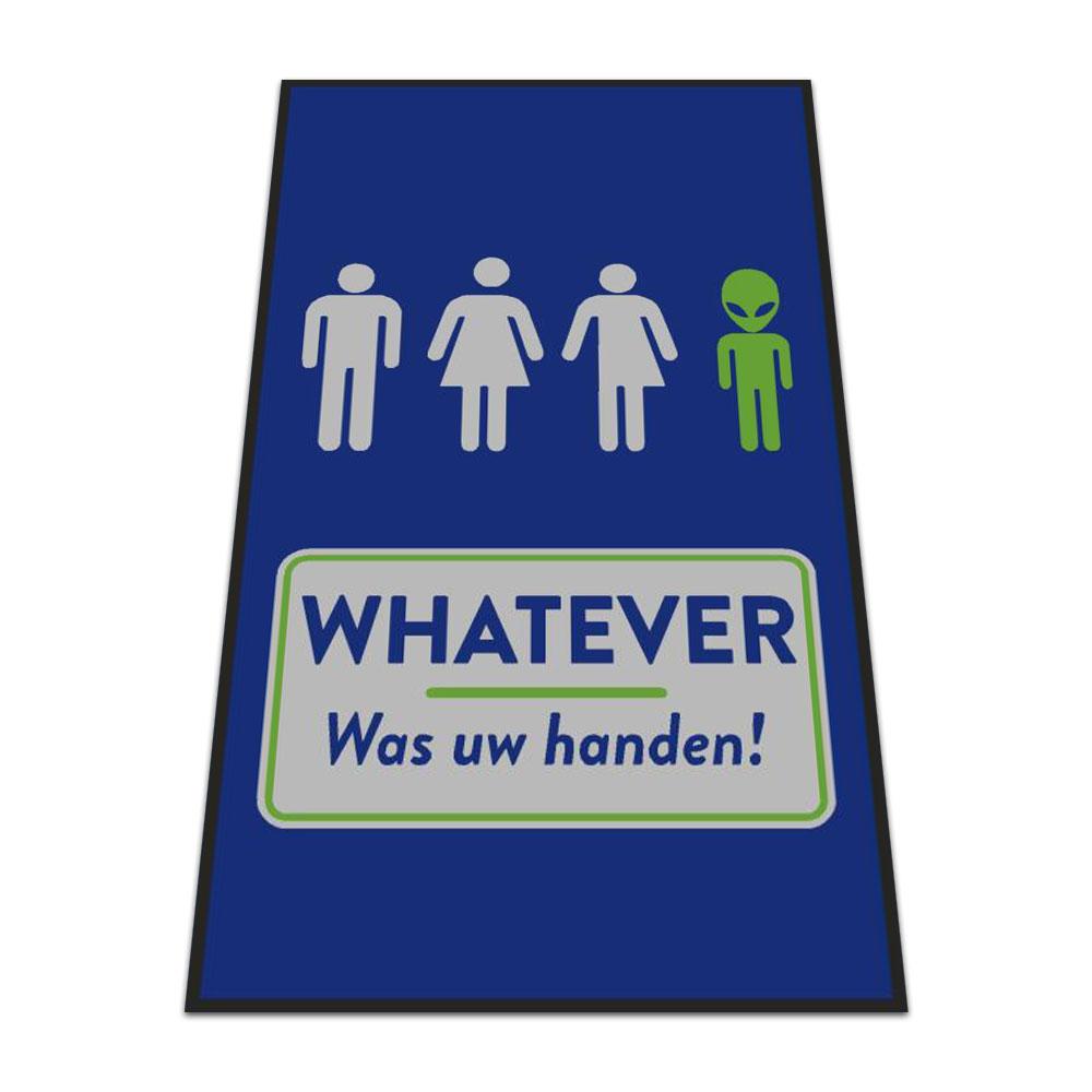 Standaard Logomat Whatever Was Uw Handen