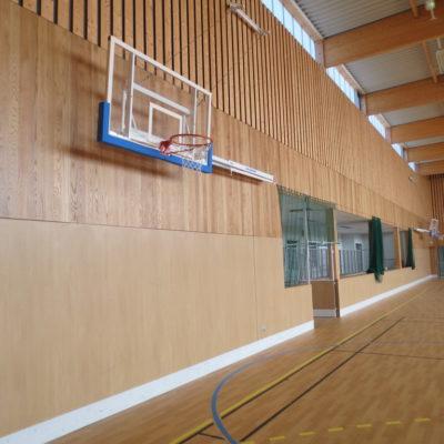 Wandbescherming Gymzaal