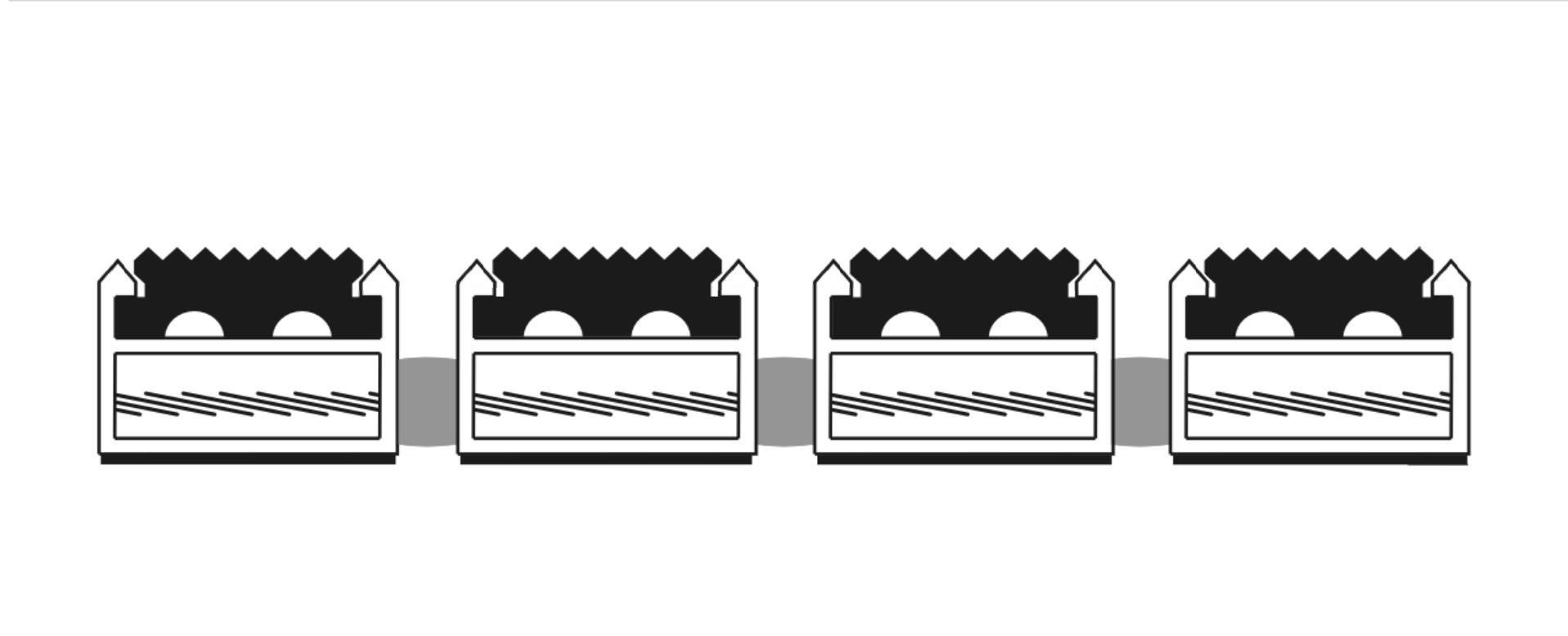 Alumat Basic Rubber Tekening