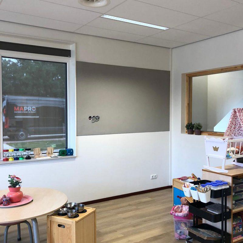 Bulletin Board Installatie School